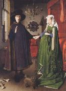 Jan Van Eyck The Arnolfini Marriage oil painting picture wholesale