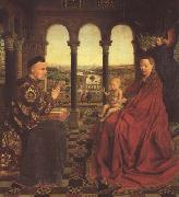 Jan Van Eyck The Virgin of Chancellor Rolin (mk45) oil painting picture wholesale