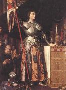 Jean Auguste Dominique Ingres Joan of Arc at the Coronation of Charles VII in Reims Cathedral (mk45) oil painting picture wholesale