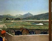 Jean-Etienne Liotard View of Geneva from the Artist s House oil painting picture wholesale