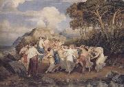Joshua Cristall Nymphs and shepherds dancing (mk47) oil painting artist