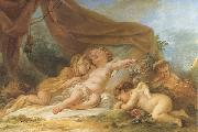 Nicolas-rene jollain Sleeping Cupid oil painting picture wholesale