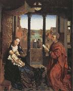 Roger Van Der Weyden Saint Luke Drawing the Virgin and Child oil painting picture wholesale