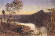 Samuel Palmer Classical River Scene oil painting picture wholesale