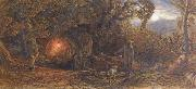 Samuel Palmer A Wagoner Returning Home oil painting picture wholesale