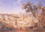 Samuel Palmer A View of Modern Rome oil painting picture wholesale