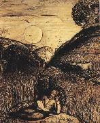 Samuel Palmer The Valley Thick with Corn oil painting picture wholesale