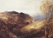 Samuel Palmer Scene from Lee,North Devon oil painting picture wholesale