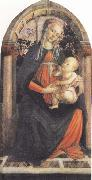 Sandro Botticelli Madonna and Child or Madonna of the Rose Garden oil painting picture wholesale