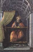 Sandro Botticelli St Augustine in his Study oil painting picture wholesale