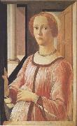 Sandro Botticelli Portrait of Smeralda Brandini oil painting picture wholesale