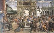 Sandro Botticelli Punishment of the Rebels oil painting picture wholesale