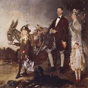 Sir William Orpen The Vere Foster Family oil painting picture wholesale