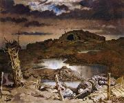 Sir William Orpen Zonnebeke oil painting picture wholesale