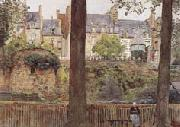 William Frederick Yeames,RA On the Boulevards-Dinan-Brittany (mk46) oil painting
