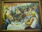 unknow artist Dressed Monkey Renoir's Painting, -- Monkies' Lunch On Boat oil painting picture wholesale