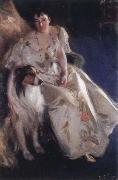 Anders Zorn mrs.walter rathbone bacon oil painting picture wholesale
