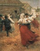 Anders Zorn country festival oil painting picture wholesale