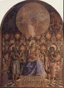Andrea del Castagno Embrace the Son of the Virgin with Angels oil