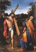 Annibale Carracci Jesus and Saint Peter oil painting picture wholesale