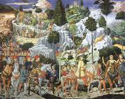 Benozzo Gozzoli Journey of the Magi to Bethlehem oil painting picture wholesale