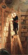 Carl Spitzweg the bookworm oil painting picture wholesale