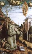 Carlo Crivelli the vision of the blessed gabriele oil painting picture wholesale