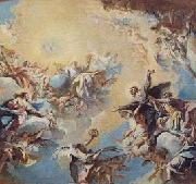Carlo Innocenzo Carlone The Glorification of St Felix and St Adauctus. oil painting picture wholesale