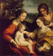Correggio The Mystic Marriage of St. Catherine oil painting picture wholesale