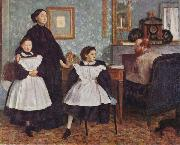 Edgar Degas Portrait of the Bellelli Family oil painting picture wholesale