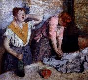 Edgar Degas tvarrerskor oil painting picture wholesale