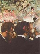 Edgar Degas Musicians in the Orchestra oil painting picture wholesale