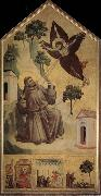 GIOTTO di Bondone Assisi Saint - Francois accept the stigma oil painting picture wholesale