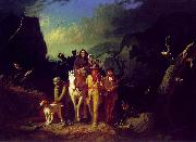 George Caleb Bingham Daniel Boone Escorting Settlers through the Cumberland Gap oil painting picture wholesale