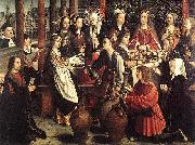 Gerard David The marriage at Cana oil painting artist