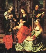Gerard David Our Lady of the Fly, oil painting artist