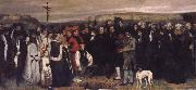 Gustave Courbet Burial at Ornans oil painting picture wholesale