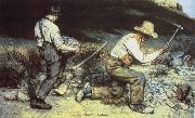 Gustave Courbet Quarrying oil painting picture wholesale