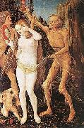 Hans Baldung Grien Three Ages of Woman and Death 1510 oil painting picture wholesale