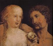 Hans Holbein Adam and Eve oil painting picture wholesale