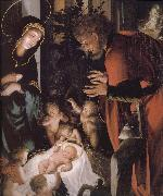 Hans Holbein The birth of Christ oil painting picture wholesale