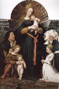Hans Holbein Our Lady Meyer oil painting picture wholesale