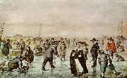 Hendrick Avercamp Fun on the ice oil painting picture wholesale