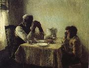 Henry Ossawa Tanner Thanksgiving poor oil painting