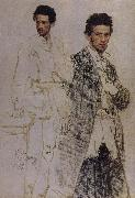 Ilia Efimovich Repin In Binte cuts the portrait oil painting picture wholesale