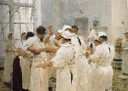 Ilia Efimovich Repin Lofton Palfrey doctors in the operating room oil painting picture wholesale