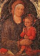 Jacopo Bellini Madonna and Child Blessing oil painting picture wholesale
