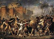 Jacques-Louis David The Intervention of the Sabine Women oil painting picture wholesale