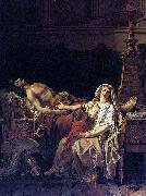 Jacques-Louis David Andromache mourns Hector oil painting picture wholesale