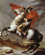 Jacques-Louis David napoleon bonaparte korsar alperna oil painting picture wholesale